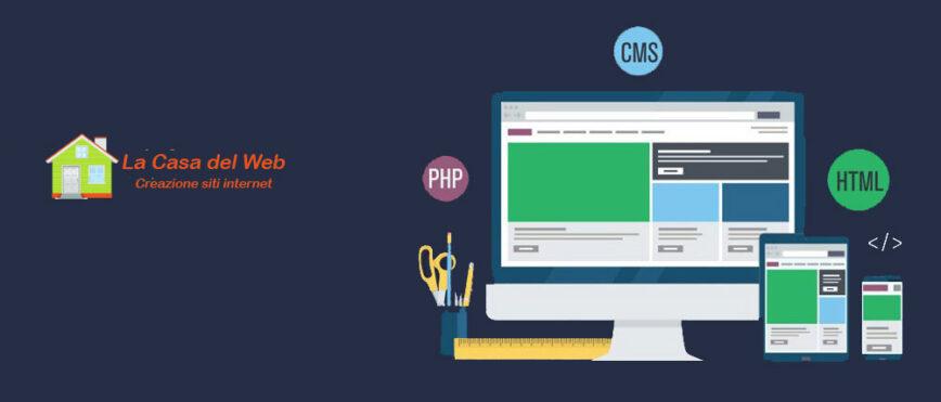 personalizzazione del sito